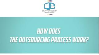 How does the outsourcing process work?