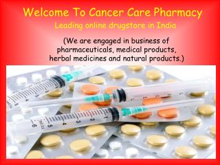 Buy Generic Anti Cancer Drugs Online