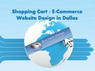Shopping Cart E-Commerce Website Design in Dallas