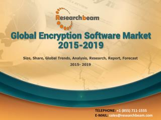 Global Encryption Software Market 2015-2019