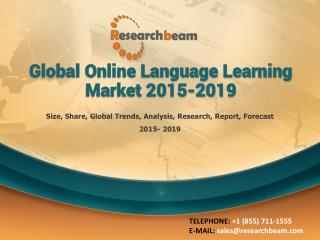Global Online Language Learning Market 2015-2019