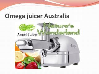 Omega juicer Australia