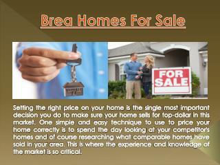 Placentia Real Estate
