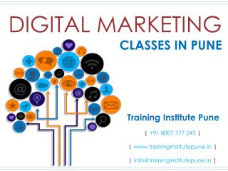 Digital Marketing Classes in Pune - Training Institute Pune
