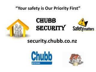 Chubb Security-  A Leading Provider of Burglar Alarm Systems