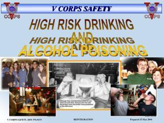 V CORPS SAFETY