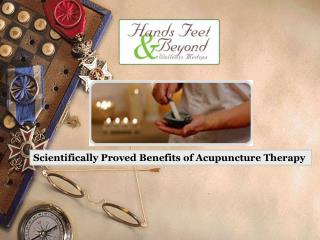 Scientifically Proved Benefits of Acupuncture Therapy