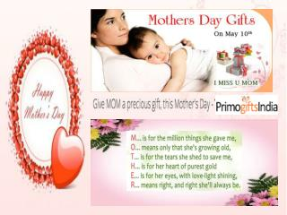 Splendid gifts for Memorable mothers day at Primogiftsindia