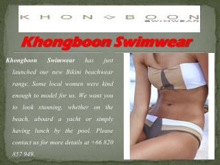 Shopping for Designer Swimwear in Thailand