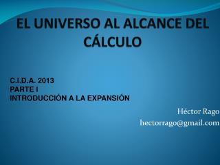 1Cosmología al alcances del calculo