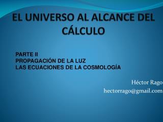 2Cosmología al alcances del calculo