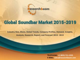 Global Soundbar Market 2015-2019
