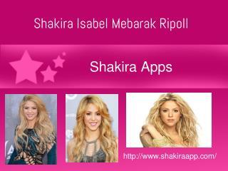ShakiraApps