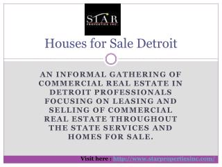 Commercial Real Estate in Detroit