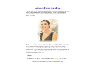 advanced laser skin clinic