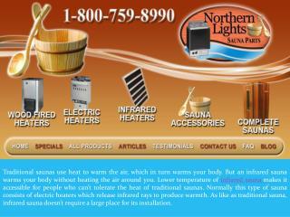 Infrared Sauna Heaters