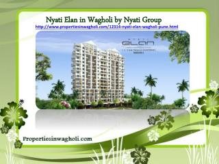 Nyati Elan in Wagholi Pune by Nyati Group