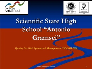 Scientific State High School  Antonio Gramsci