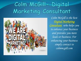 Boost your business with Digital Marketing Consultant