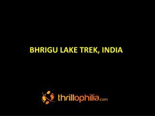 Bhrigu Lake Trekking