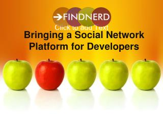 Bringing a Social Network Platform for Developers - FindNerd
