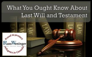 What You Ought to Know About Last Calgary legal will and Tes