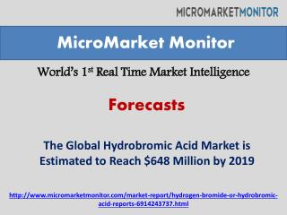 The Global Hydrobromic Acid Market Forecast-2019