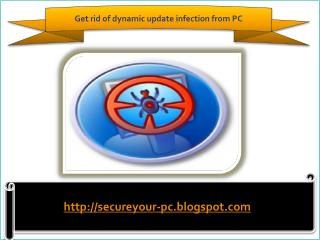 How to remove dynamic update
