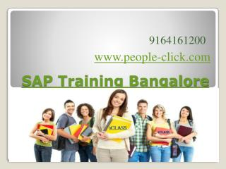 SAP Training Bangalore