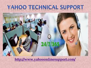 Yahoo Technical Support 1-844-884-7667 Phone Number