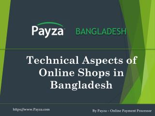 Technical aspect of Ecommerce websites in Bangladesh