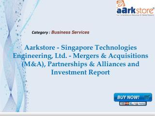 Aarkstore - Singapore Technologies Engineering, Ltd.