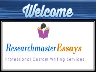Buy Academic Assignment, Dissertation and Research Papers