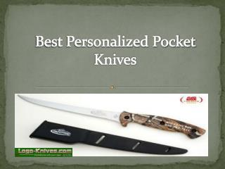Get Best Personalized Pocket Knives With Business Logo