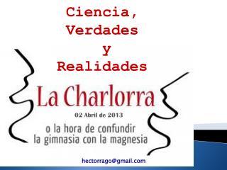 Ciencia, verdades y realidades