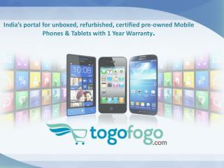 Togofogo - Unboxed, Refurbished, Certified Preowned, Used Mo