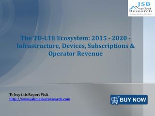 JSB Market Research: The TD-LTE Ecosystem: 2015 - 2020 - Inf