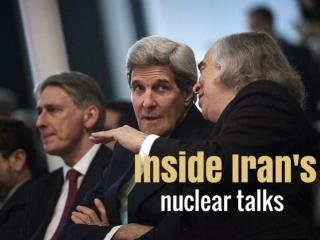 Inside Iran's nuclear talks