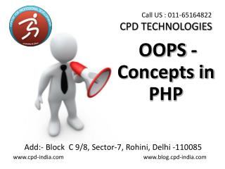 OOPS - concepts in php