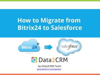 Migrate from Bitrix24 to Salesforce Automatedly