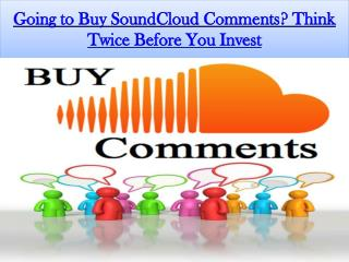 Tips to Get More SoundCloud Comments