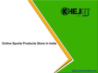 Online Sports Products Store in India