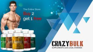 Crazy Bulk 100% Legal Steroids- An Overview