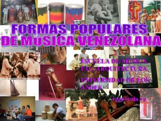 Música Venezolana:La introdución