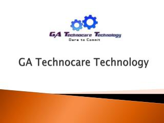 Leading Software Development Company by GA Technocare Techno