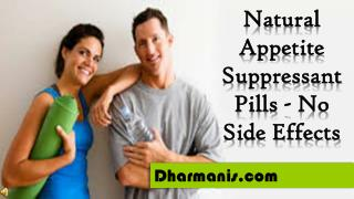 Natural Appetite Suppressant Pills - No Side Effects