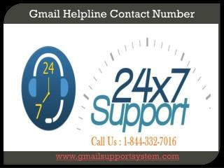 Call Us 1-844-332-7016 Gmail Password Recovery Customer Serv