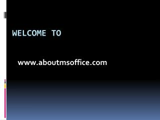 What Is Microsoft Office Groove Used For