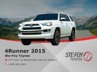 Toyota 4Runner 2015 - Caractéristiques, prix, garantie