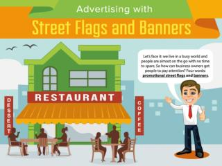 Advertising with Street Flags and Banners